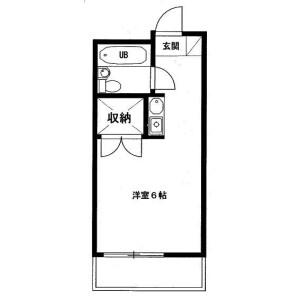 1R {building type} in Kotesashicho - Tokorozawa-shi Floorplan