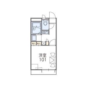 1K Apartment in Tsuda motomachi - Hirakata-shi Floorplan