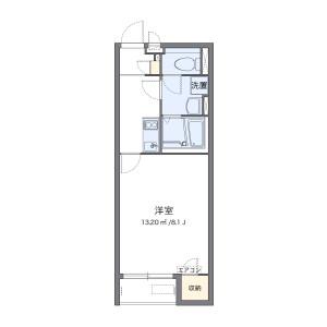 1K Apartment in Uzumasa morigahigashicho - Kyoto-shi Ukyo-ku Floorplan