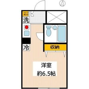 1R 맨션 in Kawaguchi - Kawaguchi-shi Floorplan