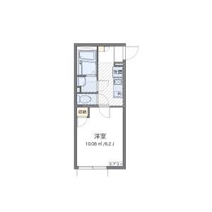 1K Apartment in Higashitoyoda - Hino-shi Floorplan