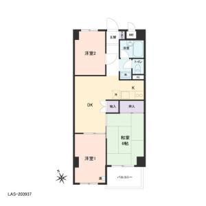 3DK {building type} in Arakawa - Arakawa-ku Floorplan