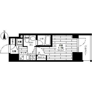 1K Mansion in Takaidohigashi - Suginami-ku Floorplan