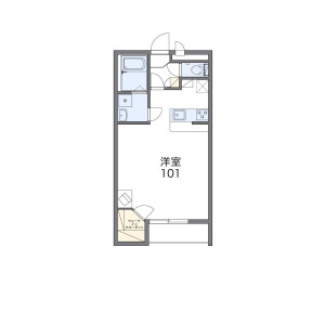 1K Mansion in Iwahara - Minamiashigara-shi Floorplan