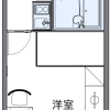 1K Apartment to Rent in Yamaguchi-shi Floorplan
