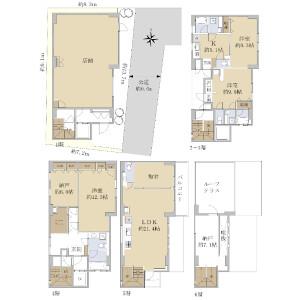 Whole Building {building type} in Kiba - Koto-ku Floorplan