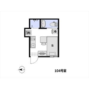 1R Apartment in Ikegami - Ota-ku Floorplan