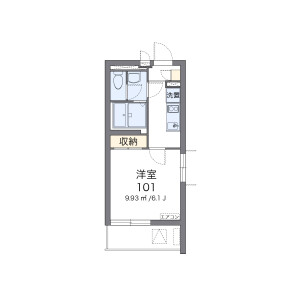 1K Apartment in Togoshi - Shinagawa-ku Floorplan