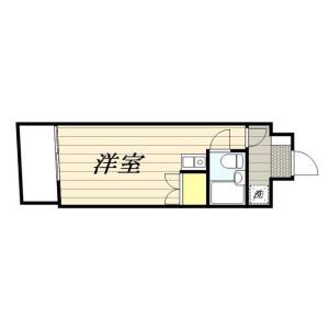 1R Mansion in Shinyokohama - Yokohama-shi Kohoku-ku Floorplan