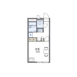 練馬區立野町-1K公寓 房間格局