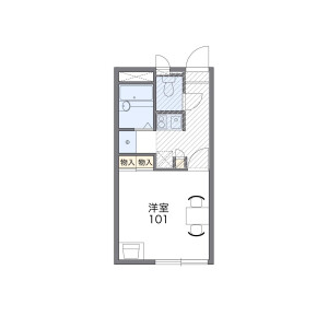 1K Apartment in Fukakusaokamedani manjojikicho - Kyoto-shi Fushimi-ku Floorplan