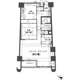 2LDK {building type} in Mikkabicho tsuzuki - Hamamatsu-shi Kita-ku Floorplan