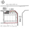 1K アパート 京都市北区 Layout Drawing