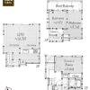 2SLDK House to Rent in Minato-ku Floorplan