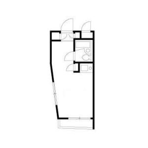 1R Mansion in Matsugaoka - Nakano-ku Floorplan