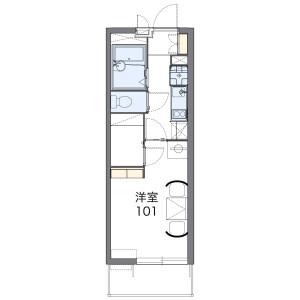 1K Apartment in Nishikawaguchi - Kawaguchi-shi Floorplan