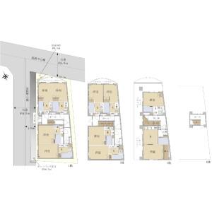 Whole Building {building type} in Nishigahara - Kita-ku Floorplan