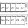 1K Apartment to Rent in Kyoto-shi Minami-ku Layout Drawing
