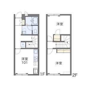 2DK Apartment in Kikoba - Miura-gun Hayama-machi Floorplan