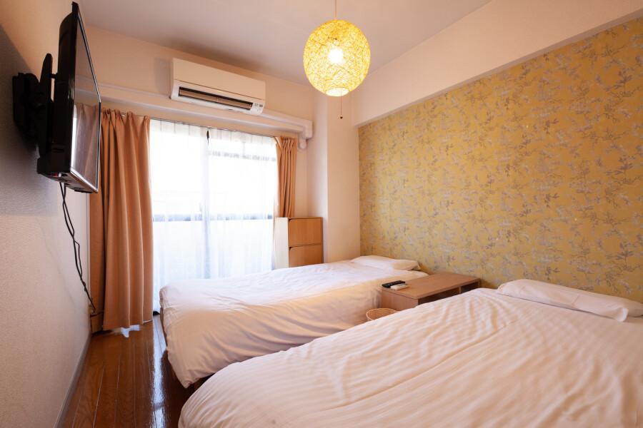 2DK Apartment to Rent in Shinagawa-ku Bedroom