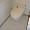2LDK Apartment to Rent in Minato-ku Toilet