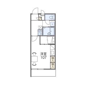 1K Mansion in Tatsumikita - Osaka-shi Ikuno-ku Floorplan