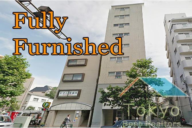 1K マンション 新宿区 外観