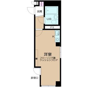 1R Mansion in Toshincho - Itabashi-ku Floorplan