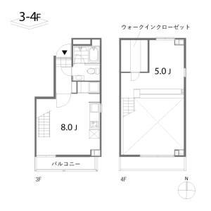 1LDK Mansion in Tansumachi - Shinjuku-ku Floorplan