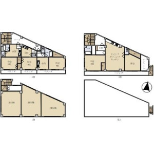 Whole Building {building type} in Shimohirama - Kawasaki-shi Saiwai-ku Floorplan