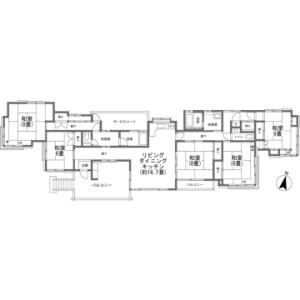 5LDK {building type} in Kitayama(sonota) - Chino-shi Floorplan
