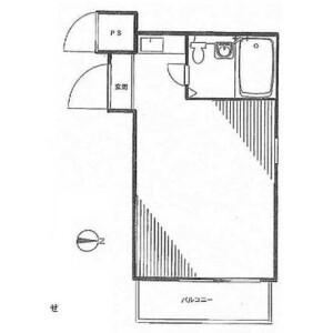 1R Mansion in Minamiotsuka - Toshima-ku Floorplan