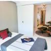 在中央區內租賃1DK 公寓大廈 的房產 臥室