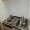 1K Apartment to Rent in Fuchu-shi Kitchen