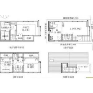 3LDK {building type} in Kitashinjuku - Shinjuku-ku Floorplan