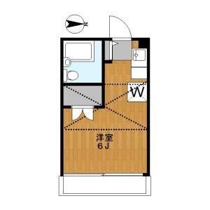 1R Apartment in Takada - Toshima-ku Floorplan