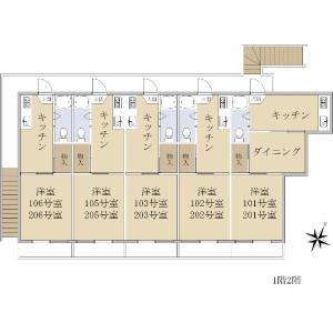 Whole Building {building type} in Matsugaoka - Nakano-ku Floorplan