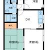 3DK Apartment to Rent in Edogawa-ku Floorplan