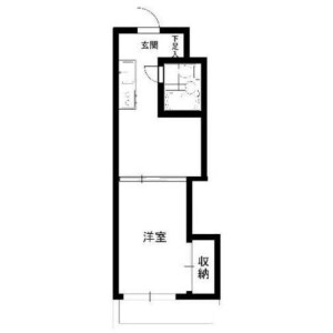 1DK 맨션 in Nishishinjuku - Shinjuku-ku Floorplan