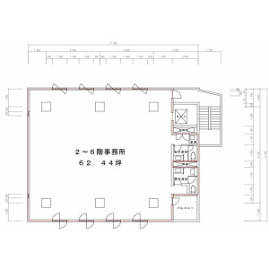 Office - Commercial Property in Koto-ku Floorplan