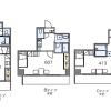 1K Apartment to Rent in Kyoto-shi Fushimi-ku Floorplan