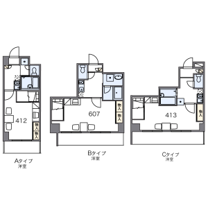 1K Mansion in Takeda nishiuchihatacho - Kyoto-shi Fushimi-ku Floorplan