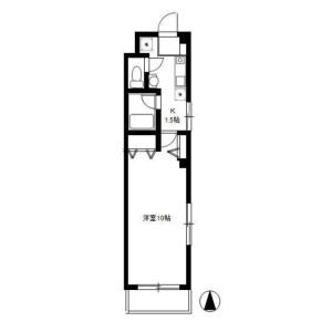 1K Mansion in Oi - Shinagawa-ku Floorplan