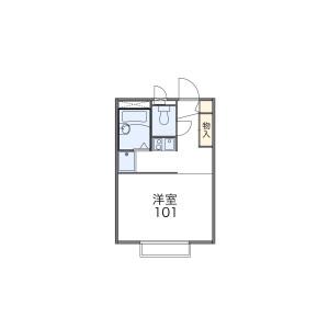 福生市熊川-1K公寓 楼层布局