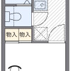 1K Apartment to Rent in Toda-shi Floorplan