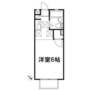 1R Apartment in Honcho - Ageo-shi Floorplan