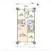 3LDK Apartment to Rent in Setagaya-ku Floorplan