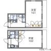 1K Apartment to Rent in Kuwana-shi Floorplan
