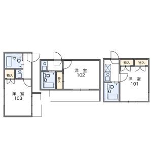 1K Apartment in Higashinakano - Nakano-ku Floorplan