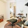 在中央區內租賃1DK 公寓大廈 的房產 起居室
